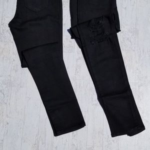 KanCan Jeans - Kancan black distressed skinnies